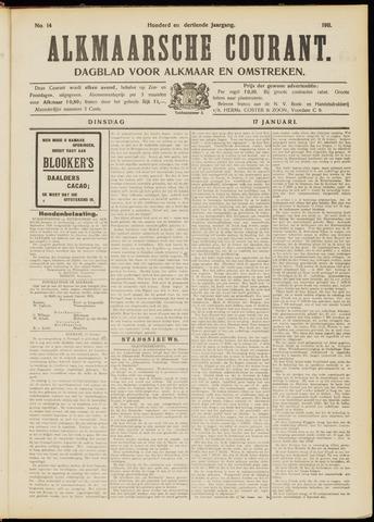 Alkmaarsche Courant 1911-01-17
