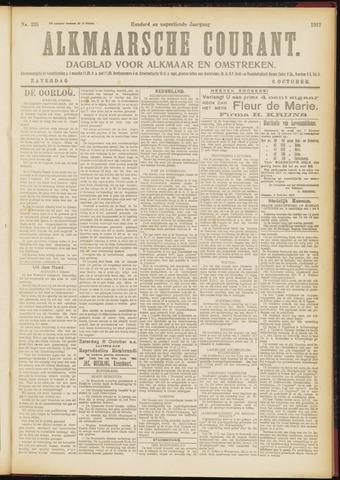 Alkmaarsche Courant 1917-10-06