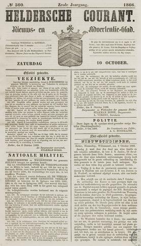 Heldersche Courant 1866-10-10