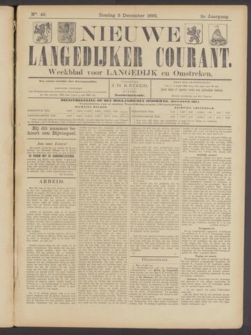 Nieuwe Langedijker Courant 1893-12-03