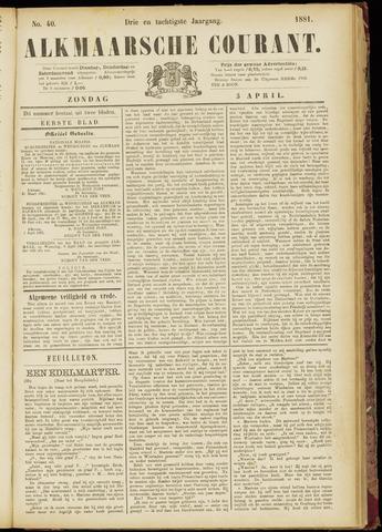 Alkmaarsche Courant 1881-04-03