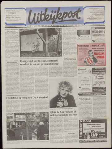 Uitkijkpost : nieuwsblad voor Heiloo e.o. 1997-11-19