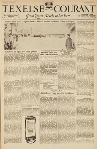 Texelsche Courant 1963-11-22