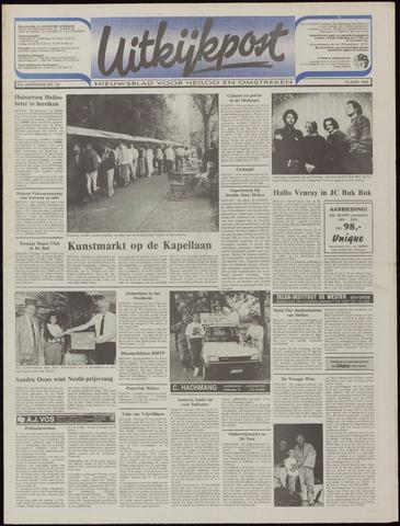 Uitkijkpost : nieuwsblad voor Heiloo e.o. 1992-06-10