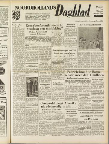 Noordhollands Dagblad : dagblad voor Alkmaar en omgeving 1953-08-26