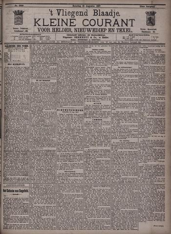Vliegend blaadje : nieuws- en advertentiebode voor Den Helder 1897-08-21