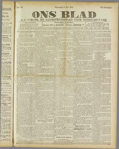 Ons Blad : katholiek nieuwsblad voor N-H 1920-05-31