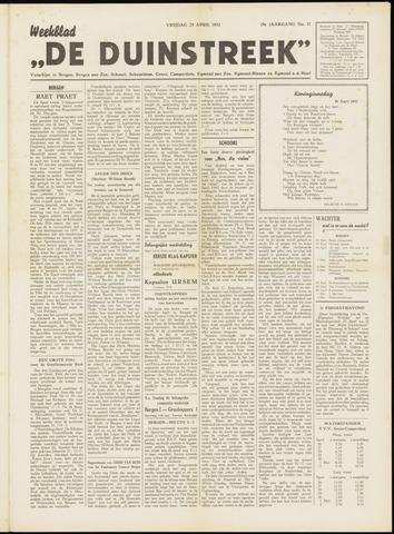 De Duinstreek 1952-04-25