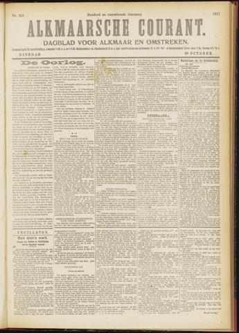 Alkmaarsche Courant 1917-10-30