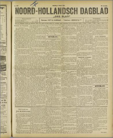 Ons Blad : katholiek nieuwsblad voor N-H 1922-03-27