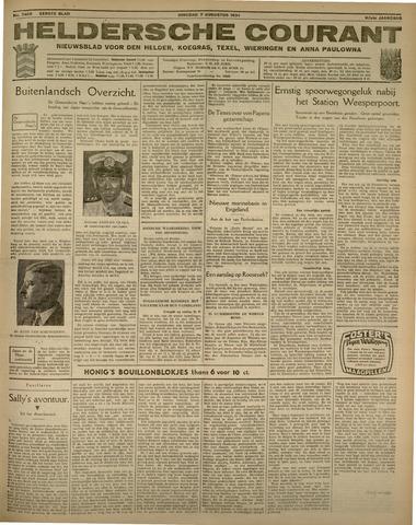 Heldersche Courant 1934-08-07