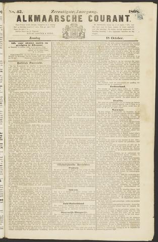 Alkmaarsche Courant 1868-10-18