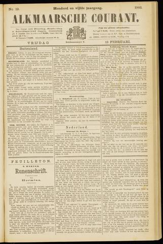 Alkmaarsche Courant 1903-02-13