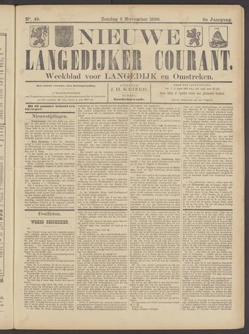 Nieuwe Langedijker Courant 1899-11-05