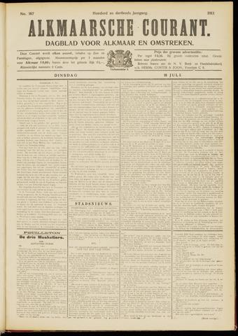 Alkmaarsche Courant 1911-07-18