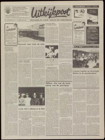 Uitkijkpost : nieuwsblad voor Heiloo e.o. 1991-02-27