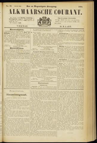 Alkmaarsche Courant 1894-03-16