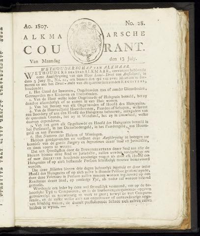 Alkmaarsche Courant 1807-07-13