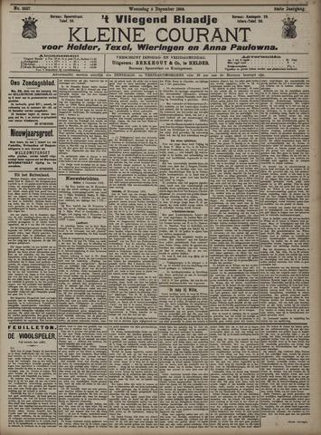 Vliegend blaadje : nieuws- en advertentiebode voor Den Helder 1906-12-05