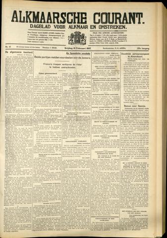 Alkmaarsche Courant 1937-02-19