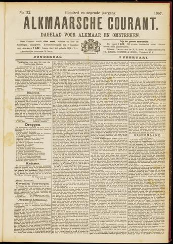 Alkmaarsche Courant 1907-02-07