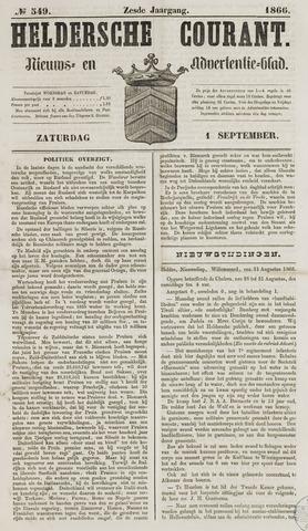 Heldersche Courant 1866-09-01