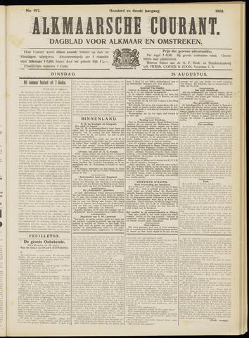 Alkmaarsche Courant 1908-08-25