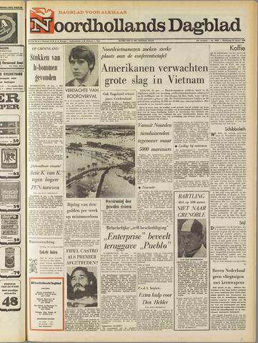 Noordhollands Dagblad : dagblad voor Alkmaar en omgeving 1968-01-25