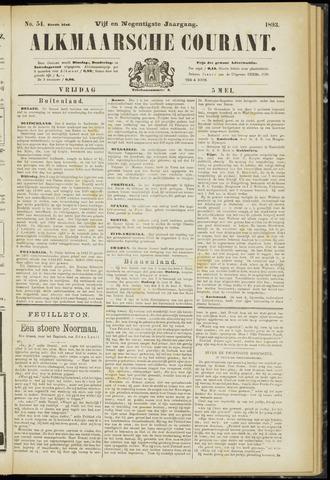 Alkmaarsche Courant 1893-05-05