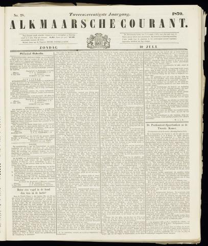 Alkmaarsche Courant 1870-07-10