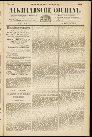 Alkmaarsche Courant 1898-12-16