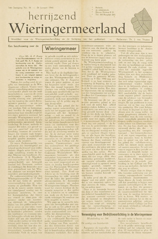 Herrijzend Wieringermeerland 1946-01-26