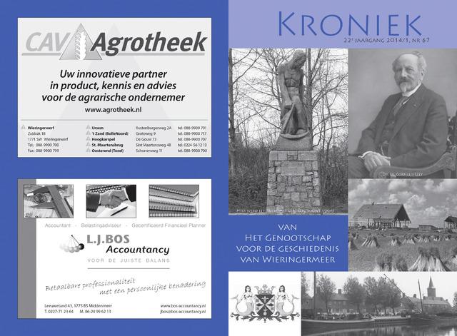Kroniek Historisch Genootschap Wieringermeer 2014-04-01