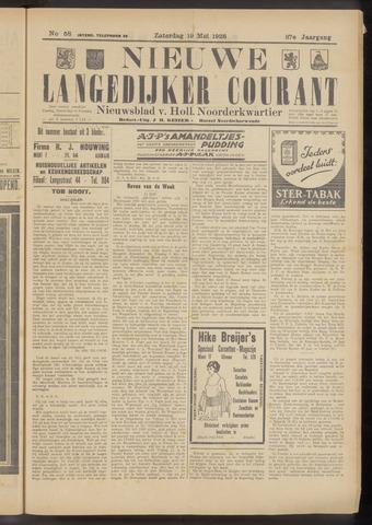 Nieuwe Langedijker Courant 1928-05-19