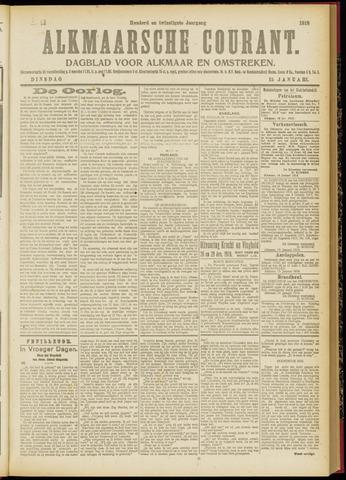 Alkmaarsche Courant 1918-01-15
