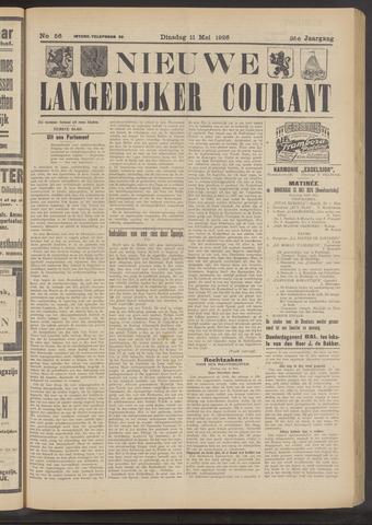 Nieuwe Langedijker Courant 1926-05-11