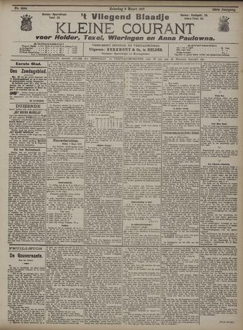 Vliegend blaadje : nieuws- en advertentiebode voor Den Helder 1907-03-09