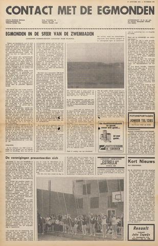 Contact met de Egmonden 1971-01-27