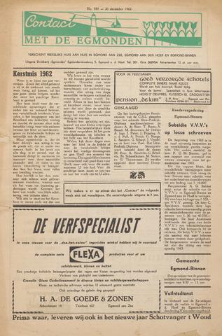 Contact met de Egmonden 1962-12-20