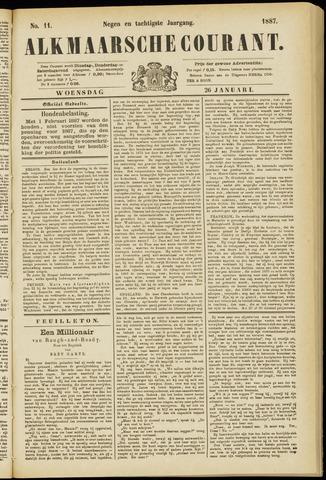 Alkmaarsche Courant 1887-01-26