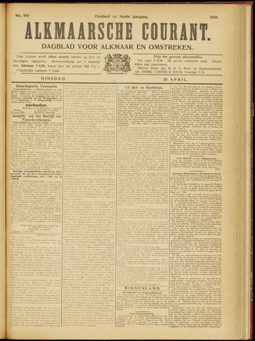 Alkmaarsche Courant 1908-04-28