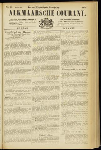 Alkmaarsche Courant 1894-03-25