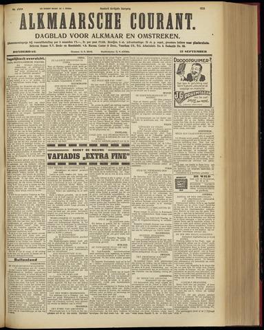 Alkmaarsche Courant 1928-09-27