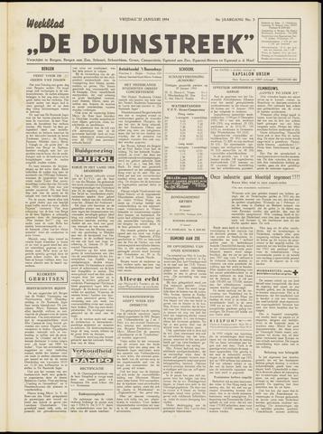 De Duinstreek 1954-01-22