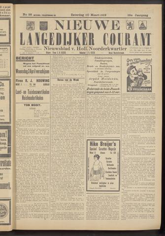 Nieuwe Langedijker Courant 1929-03-30