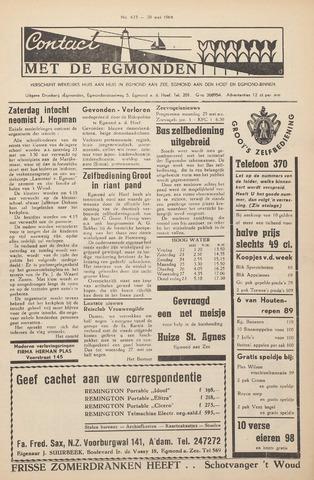 Contact met de Egmonden 1964-05-20