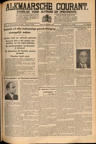 Alkmaarsche Courant 1939-09-22