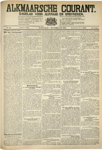Alkmaarsche Courant 1930-02-26