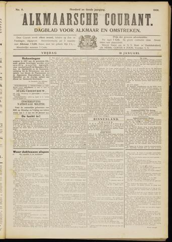 Alkmaarsche Courant 1908-01-10