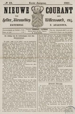 Nieuwe Courant van Den Helder 1861-08-03